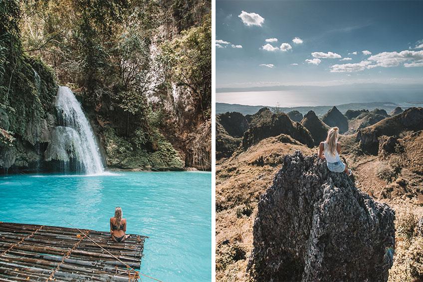 Kawasan Falls und Osmena Peak. © Foto: Lea Schmalz